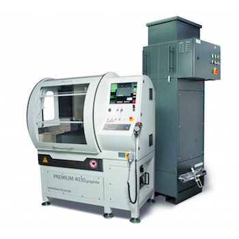 Graphite Electrode Machining Center