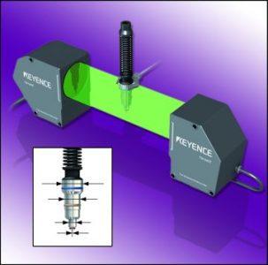Keyence Laser Scan Micrometer